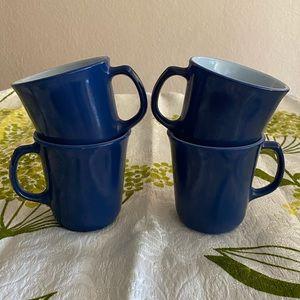 Pyrex Milk Glass Mugs